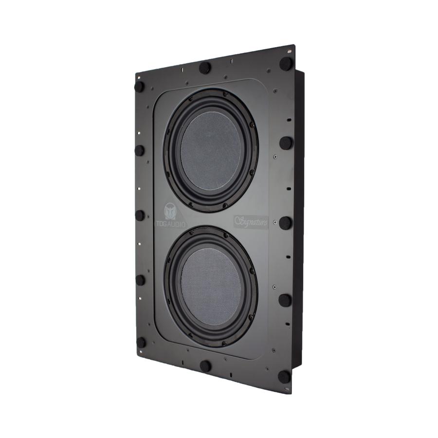 "TDG Audio Signature Series In-Wall Dual 10"" Subwoofer"