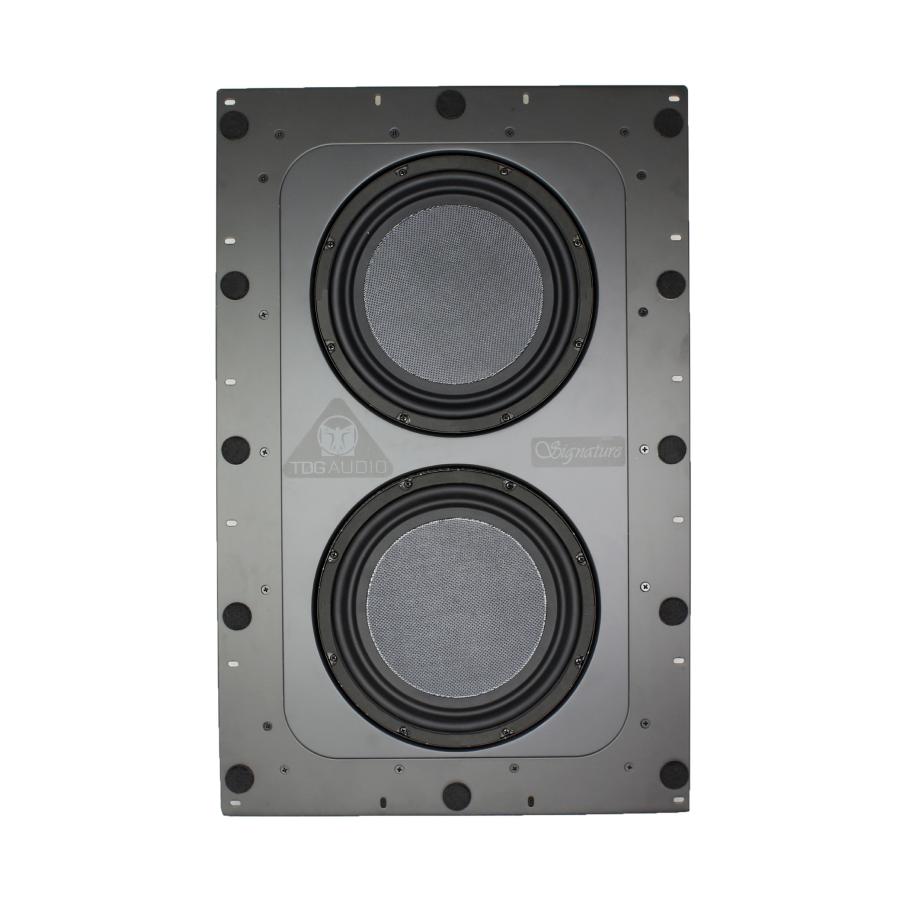 "TDG Audio IWS - 210 Signature Series In-Wall Dual 10"" Subwoofer"