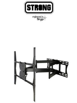 Strong Mounts Contractor Series Universal Articulating Dual Arm Mounts