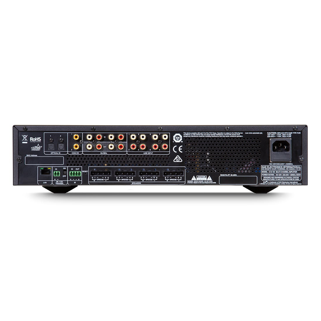 NAD CI 8-150 DSP Distribution Amplifier