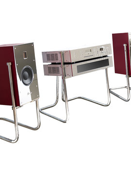 Burmester Phase 3 Digital 161 Retro Style All-In-One Sound System