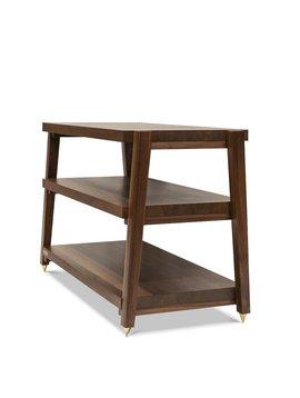 Butcher Block Acoustics rigidrack® 3 Shelf Walnut Shelves - Walnut Legs
