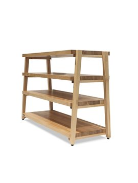 Butcher Block Acoustics 4 Shelf Maple Shelves  -  Maple Legs