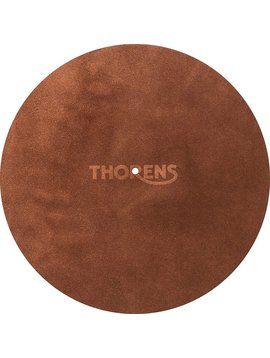 Thorens High-Quality Leather Turntable Platter Mat