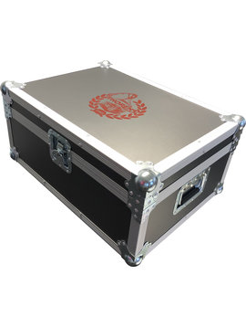 Thorens Flight Case with Thorens Logo for TD 124 DD, Grey Color