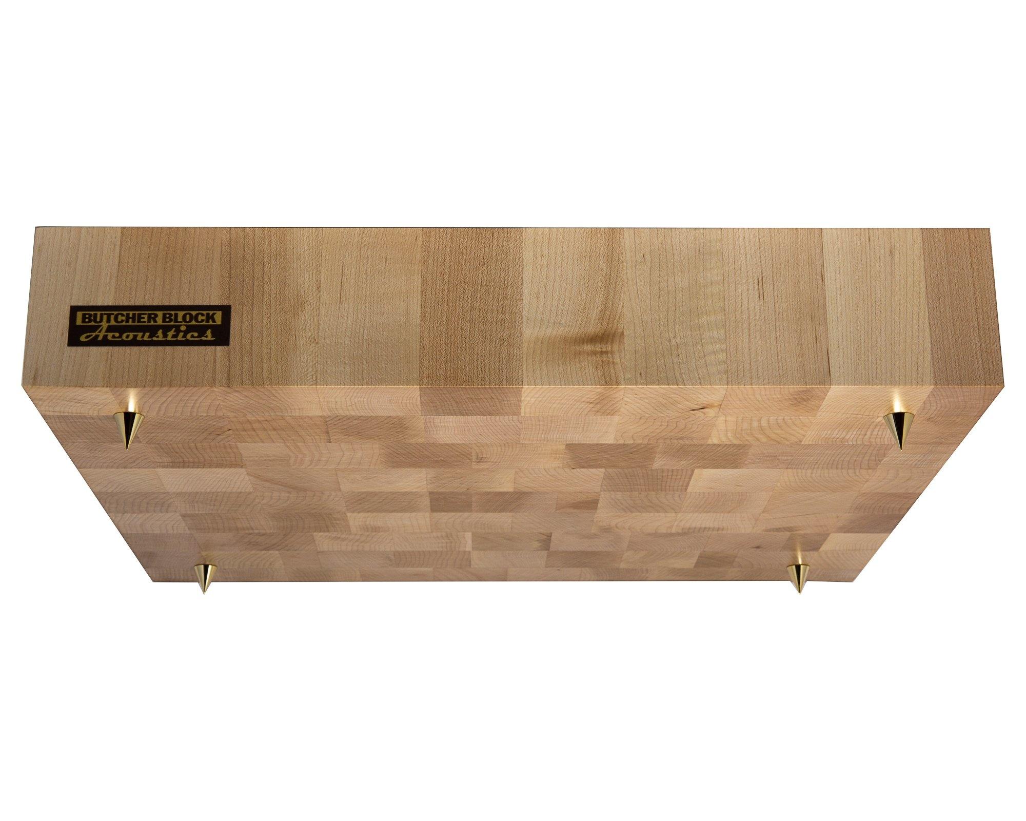 """Butcher Block Acoustics Maple End - Grain Platform ( 3"""" )"""
