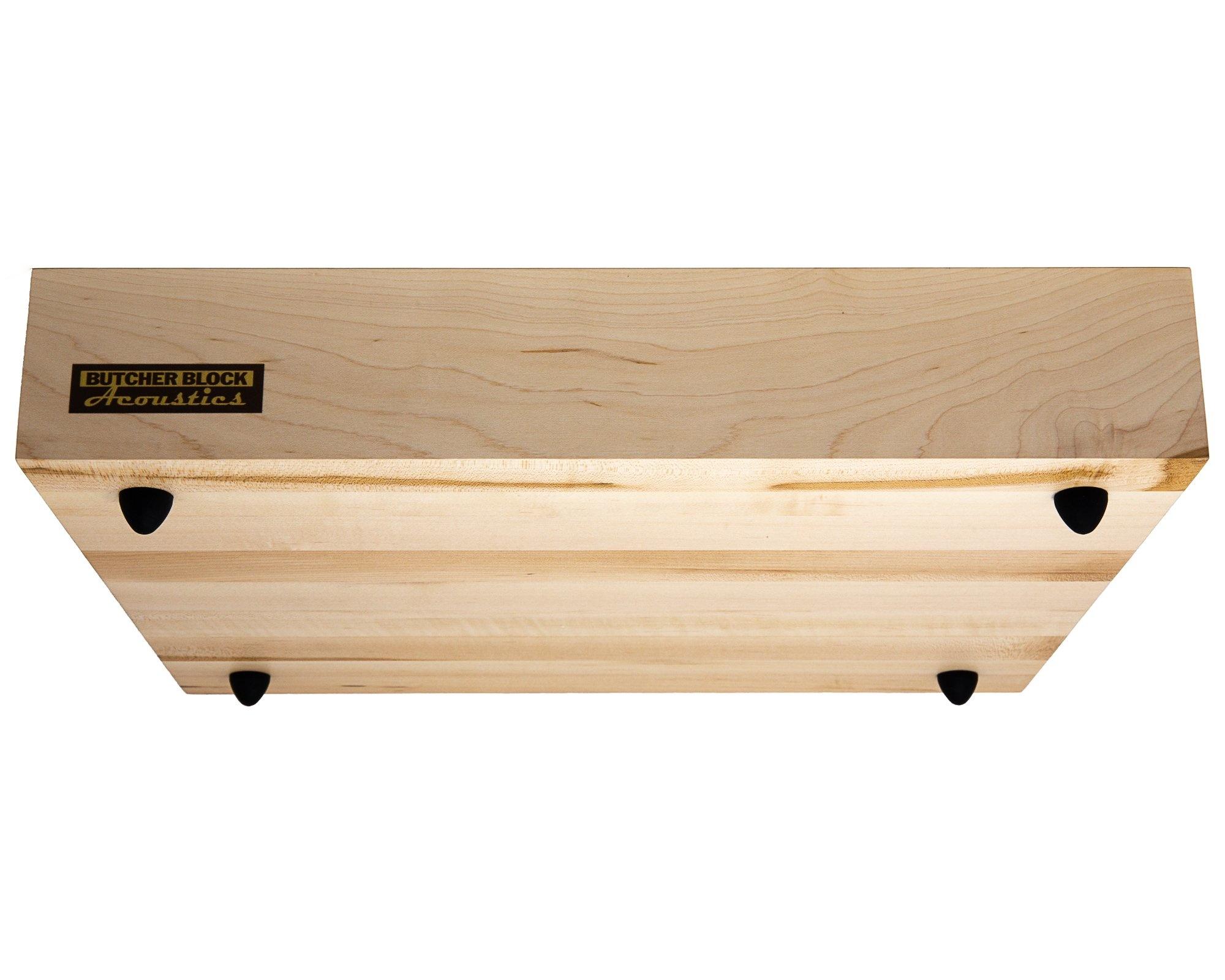 """Butcher Block Acoustics Maple Edge - Grain Platform ( 3"""" )"""