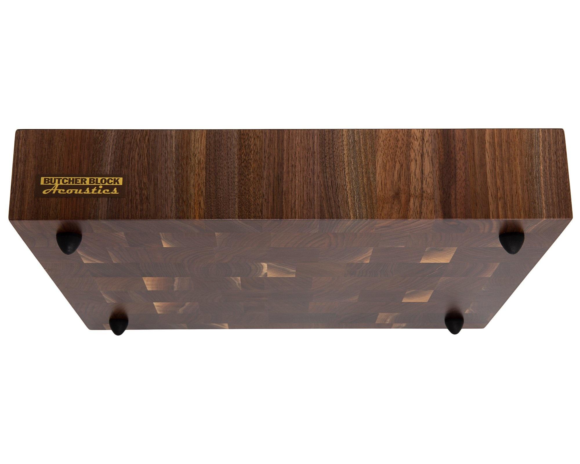 "Butcher Block Acoustics Walnut End-Grain Platform ( 3"" )"