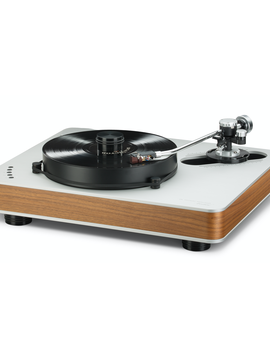 """Dr. Feickert Firebird Deluxe K-SS12 VTA Noise Cancelling Triple Equilateral Triangle Motors 22.05"""" x 18.11"""" x 6.3 Turntable"""
