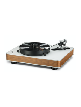 """Dr. Feickert Firebird Deluxe K-4PSE Noise Cancelling Triple Equilateral Triangle Motors 22.05"""" x 18.11"""" x 6.3 Turntable"""