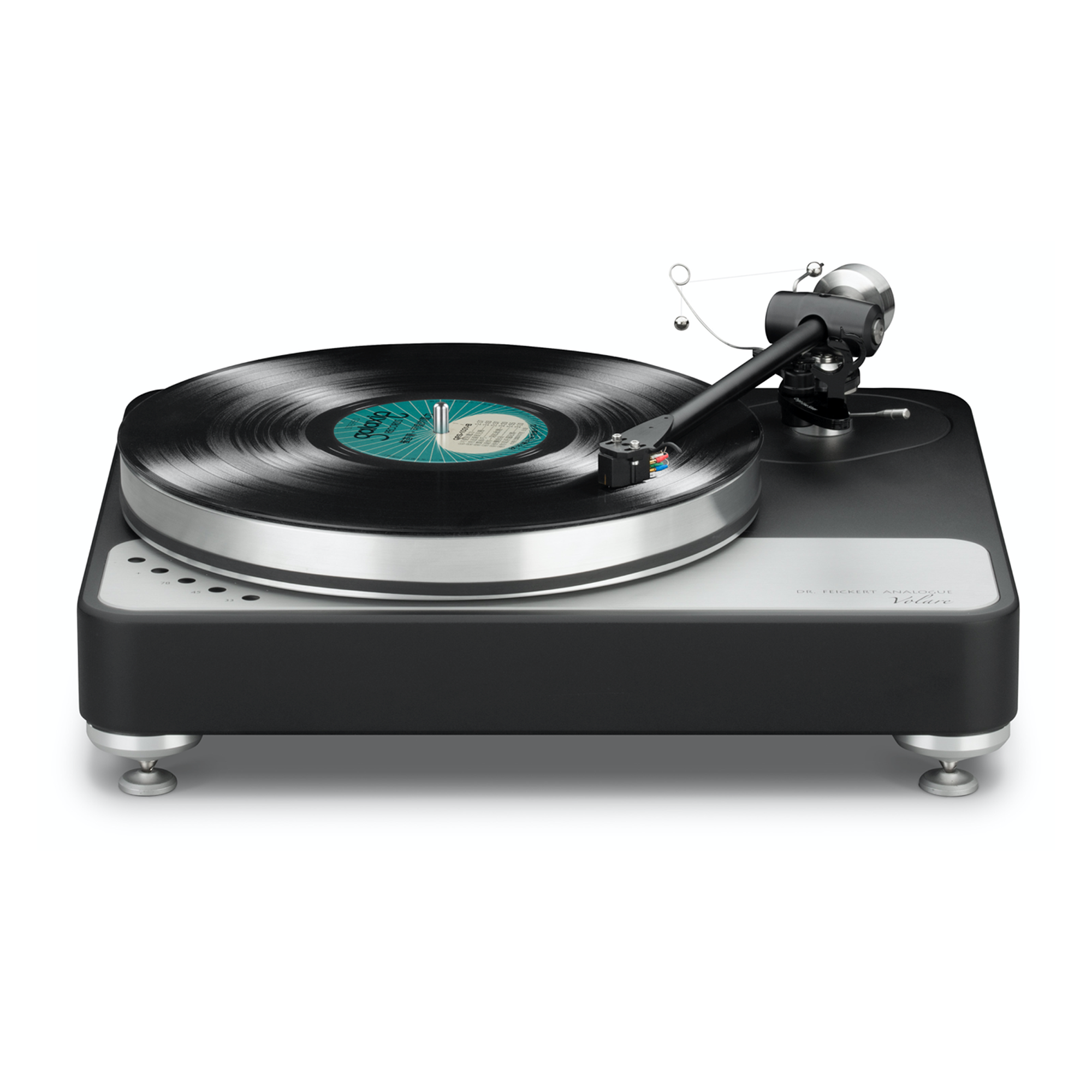 """Dr. Feickert Volare Single Motor Drive 16.5"""" x 14.17"""" x 4.9"""" Turntable"""
