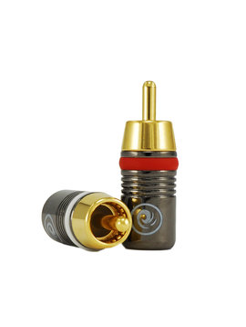 Gold Plated RCA Connectors - Male