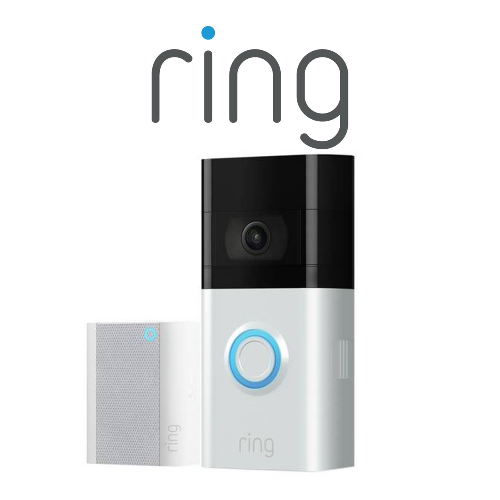 Ring Wireless Plug-In Door Chime, 2nd Generation