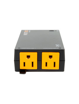 Wattbox 250-Series Wi-Fi Surge Protector | 2 Individually Controlled Outlets ( Wi-Fi or Wired ) WB-250-IPW-2