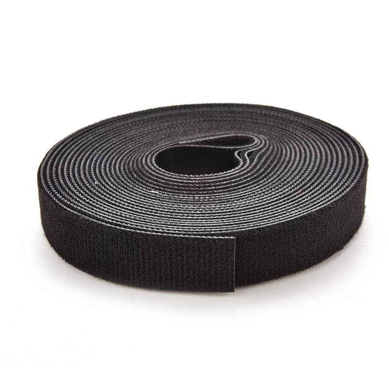 "Black Velcro 0.5"" x 18 yards"