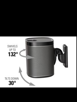 Sanus Speaker Wall Mounts for Sonos One, Sonos Play 1, Play 3