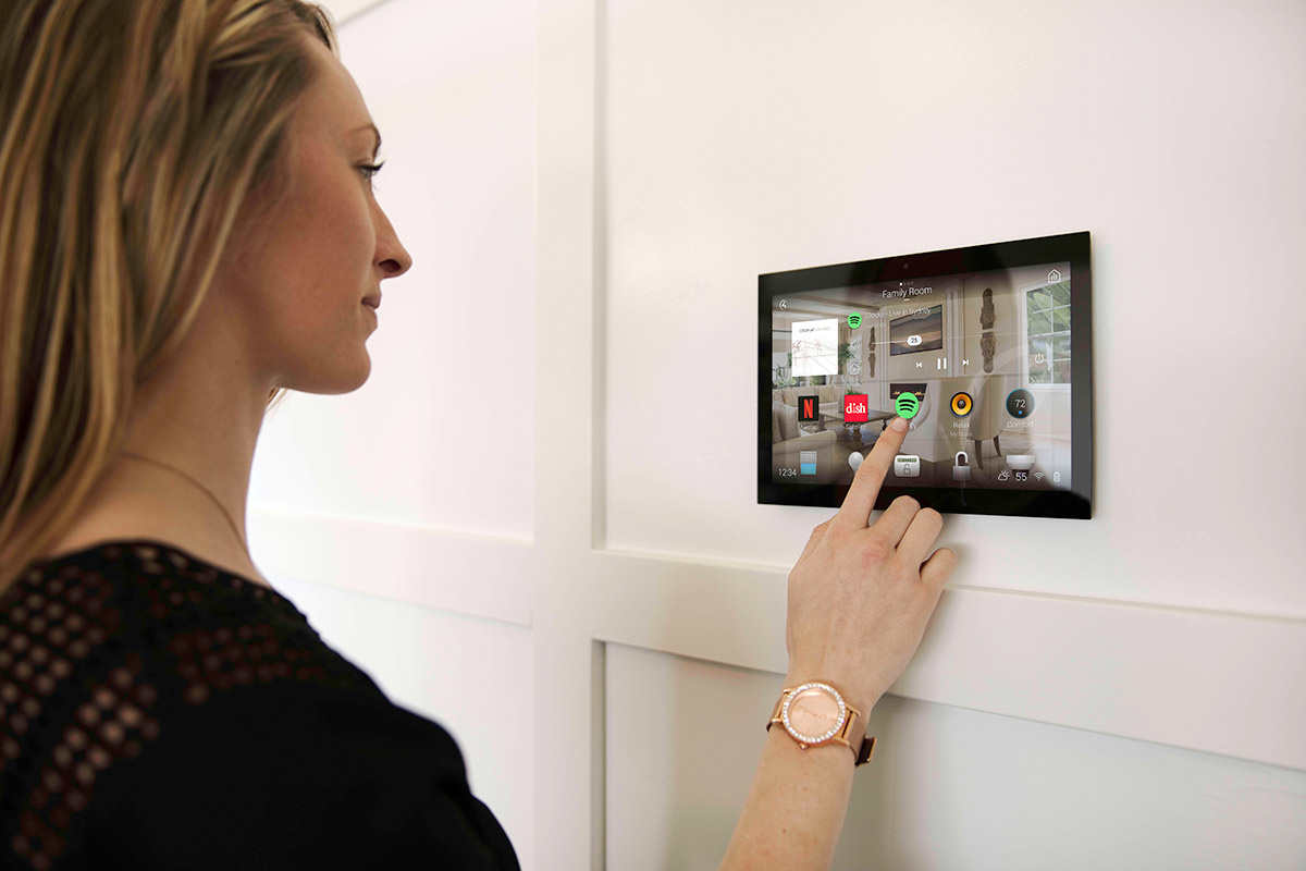 Control4  T4 Series  In-Wall Touchscreens