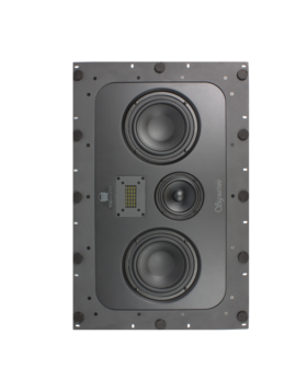 """TDG Audio IW LCR - 66v2 Signature Series In-Wall LCR Dual 6"""" 3-Way Ribbon Tweeter"""