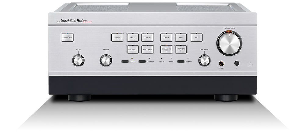 Luxman Limited Edition 95th Anniversary Integrated Amplifier, L-595ASE