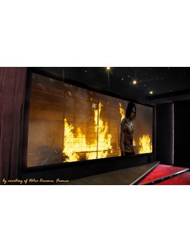 Seymour & Screen Excellence VistaCurve ( RF ) Fixed Frame Screens