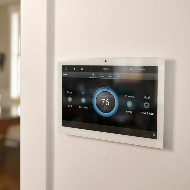 """Control4  10"""" Touch Screen In-Wall, C4-WALL10-1-WH"""