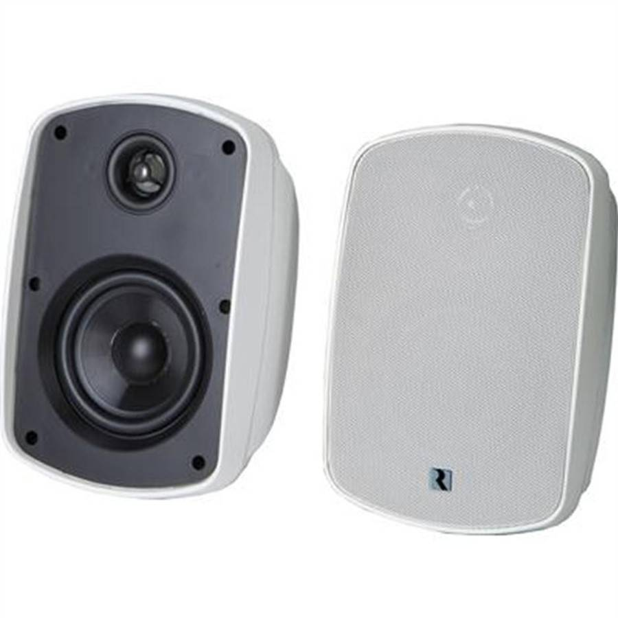 "Russound 5B65-W 6.5"" Outdoor Rated Speakers, (Pair) White"