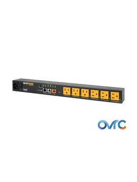 Wattbox IP Power Conditioner with OvrC Home | 6 Controlled Outlets, WB-800-IPVM-6