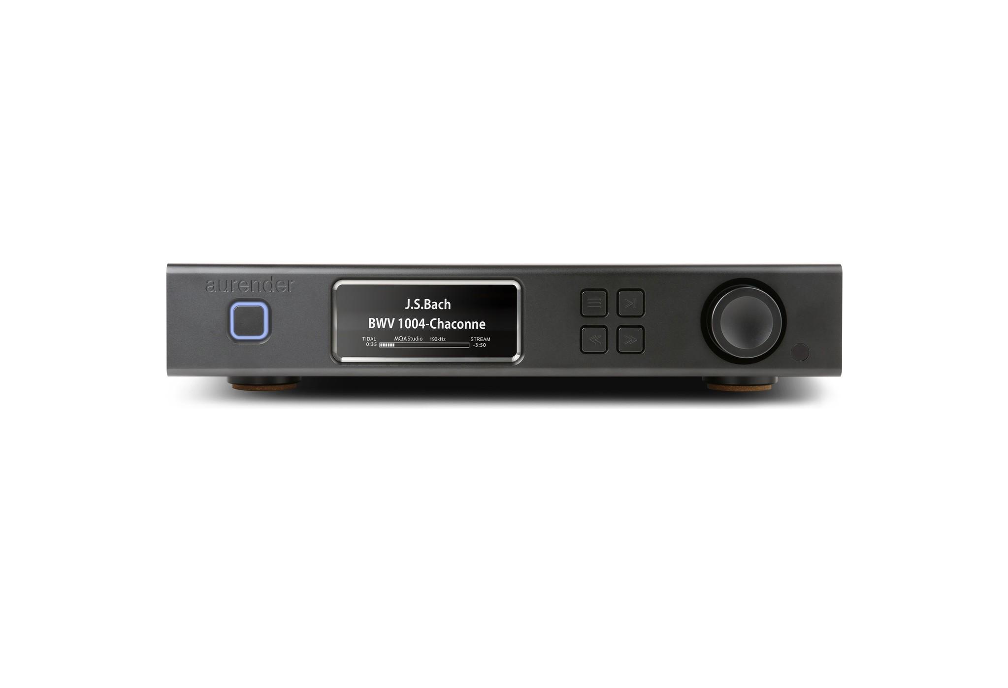 Aurender A100 Music Server / Streamer / Preamplifier , MQA DAC, 2TB