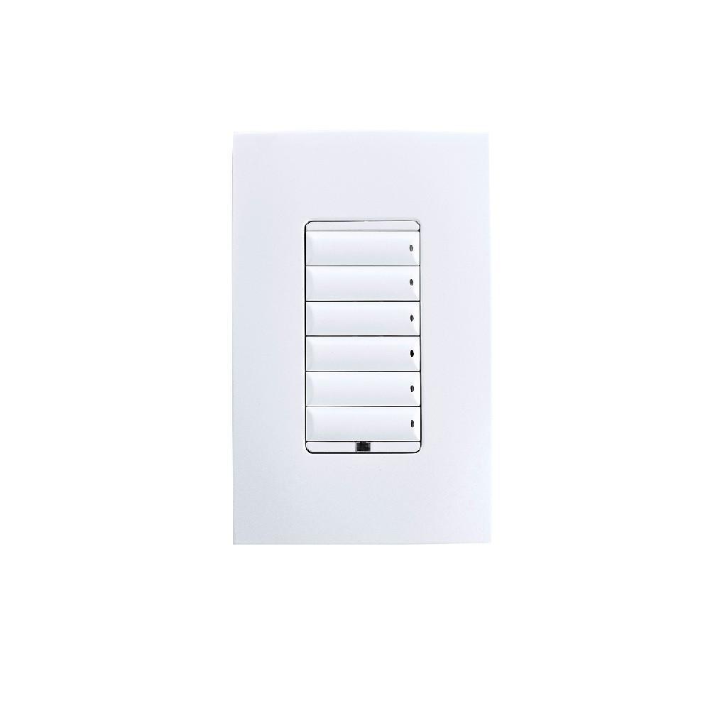 Control4 Adaptive Wireless Keypad Dimmer, C4-KD120-XX or C4-KD277-XX