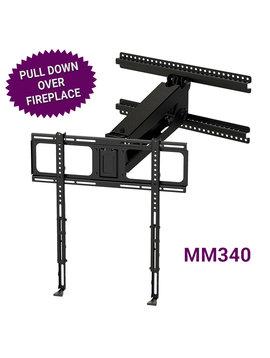 MantelMount Pull Down & Swivel TV Mount