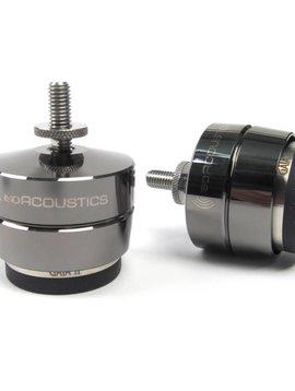 IsoAcoustics GAIA II Speaker Isolators ( 4 Pack ) Dark Chrome