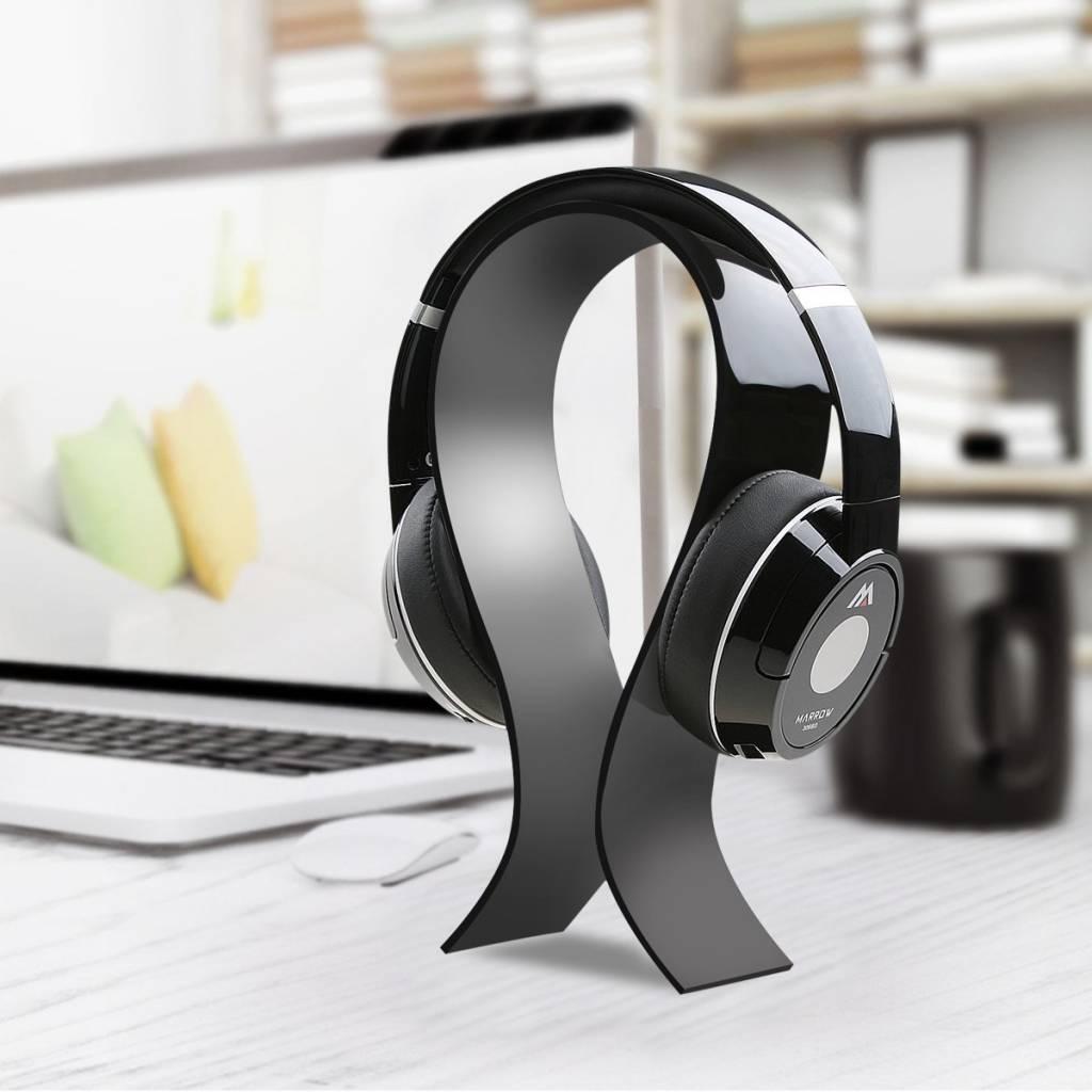 Acrylic Headphone Stand, Black