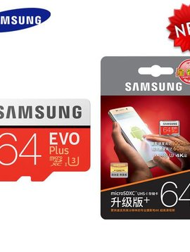 Samsung EVO Plus 256 GB micro SDXC UHS-I Card with SD Adapter