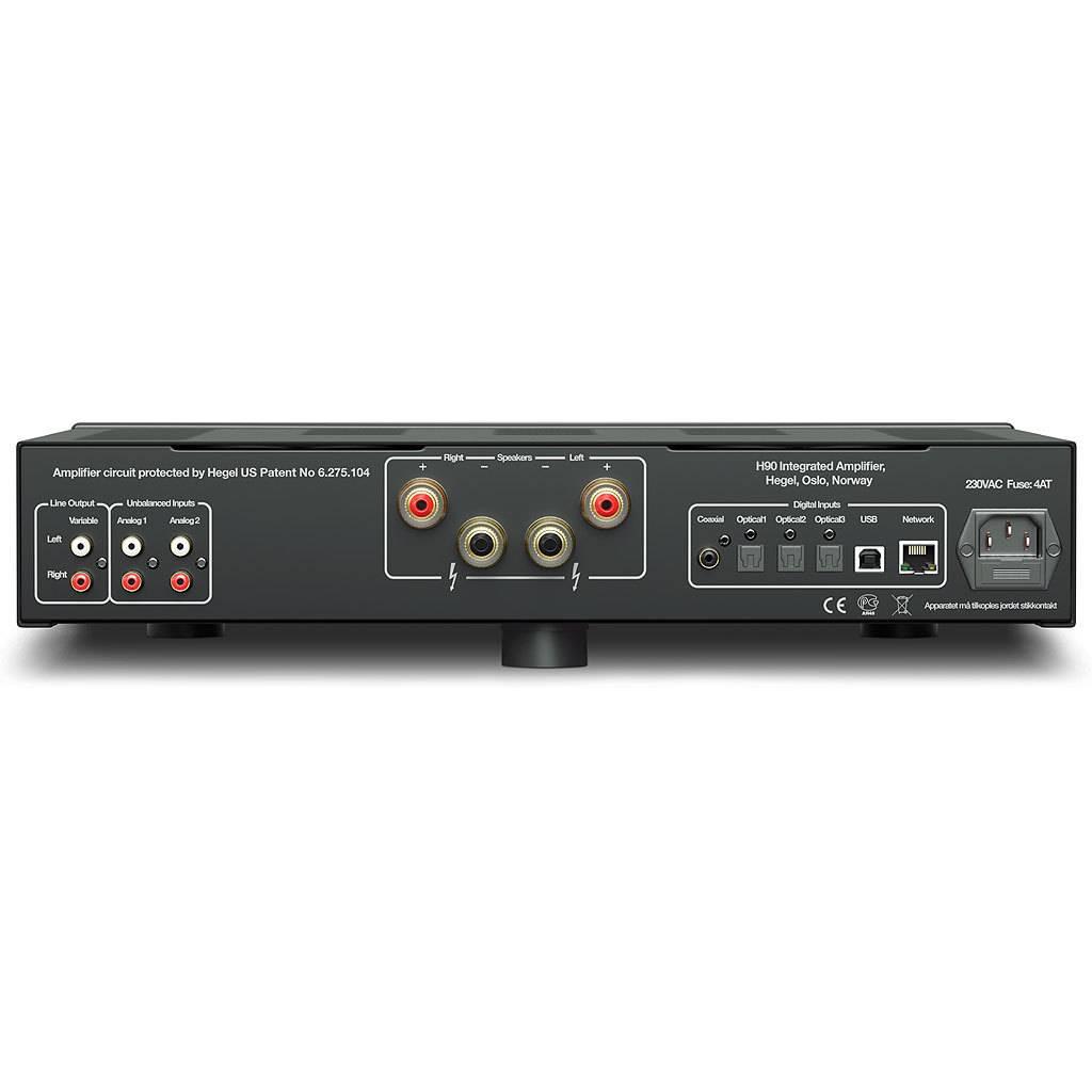 Hegel H90 Integrated Amplifier, Black