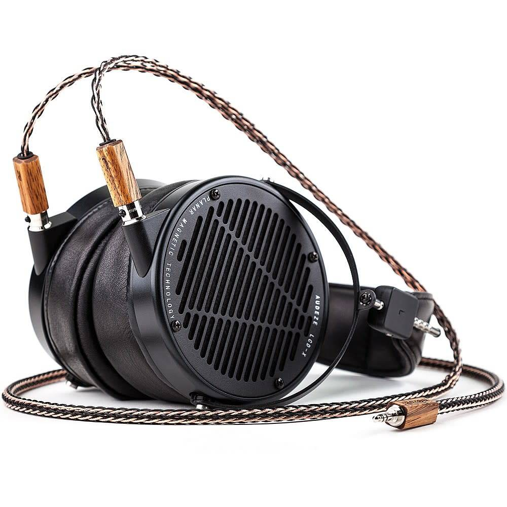 Kimber Kable Axios CU in Gaboon Ebony Wood for Focal Utopia Headphones