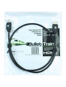 AV Pro Edge Bullet Train Ultra HD 4K 60Hz 18Gbps HDMI Jumper Cable