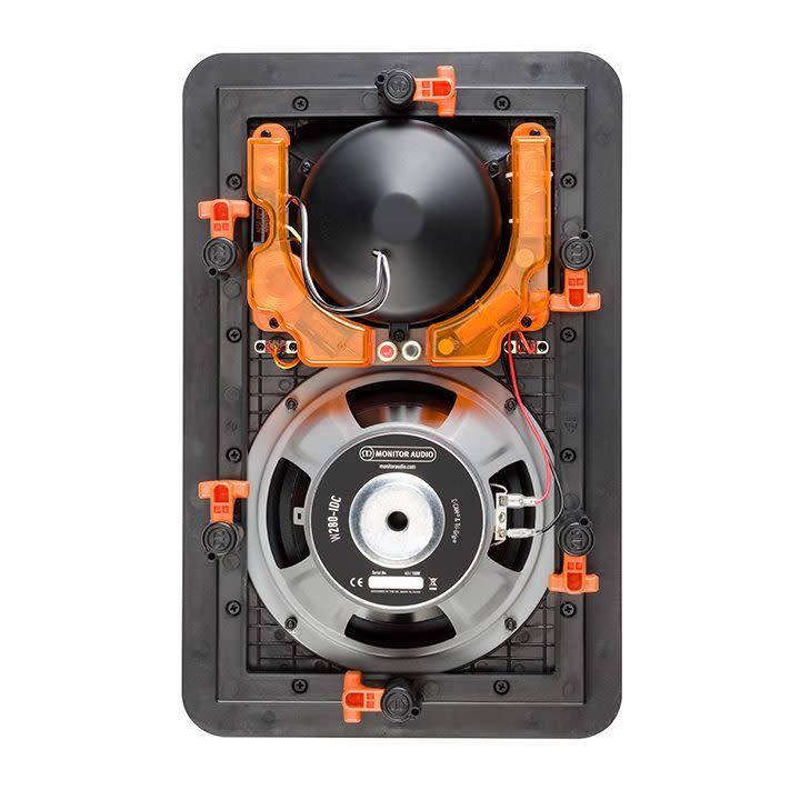 "Monitor Audio W280-IDC 3-way 8"" Trim-less Full Range In-Wall Speaker"