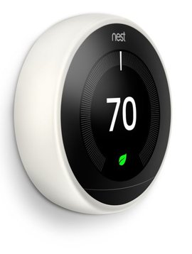 Nest Learning Thermostat 3rd Gen., White, T3017US