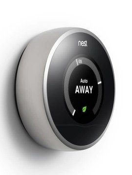 Nest Learning Thermostat, Stainless Steel
