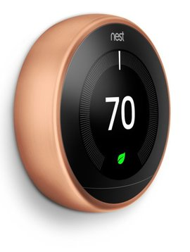 Nest Learning Thermostat 3rd Gen., Copper, T3021US