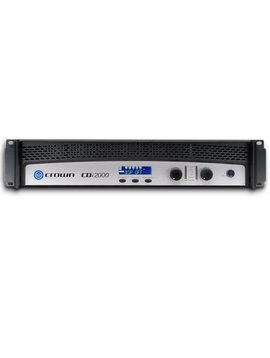 Crown Audio CDi2000 Two channel 800 Watt @ 8 Ohm 70V / 100V / 140 Volt Power Amplifier