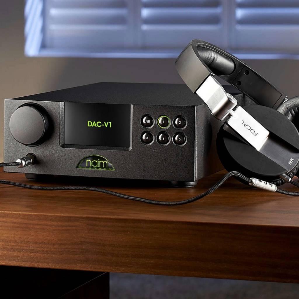 Naim Audio DAC-V1 Asynchronous USB DAC/Digital Preamp/Headphone Amp