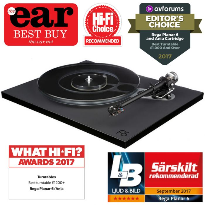 Rega Research Planar 6 with Exact MM pre-installed
