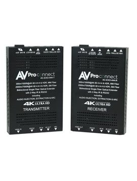 AVPro Edge Single Fiber Extender for Multi-Mode (300 Meter) or Single Mode (1000 Meter),  AC-EXO-444