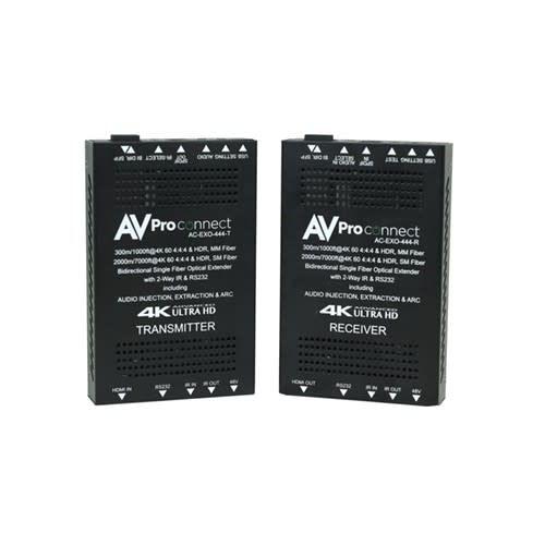 AVPro Edge Single Fiber Extender for Multi-Mode ( 300 M ) or Single Mode ( 1000 M ),  AC-EXO-444