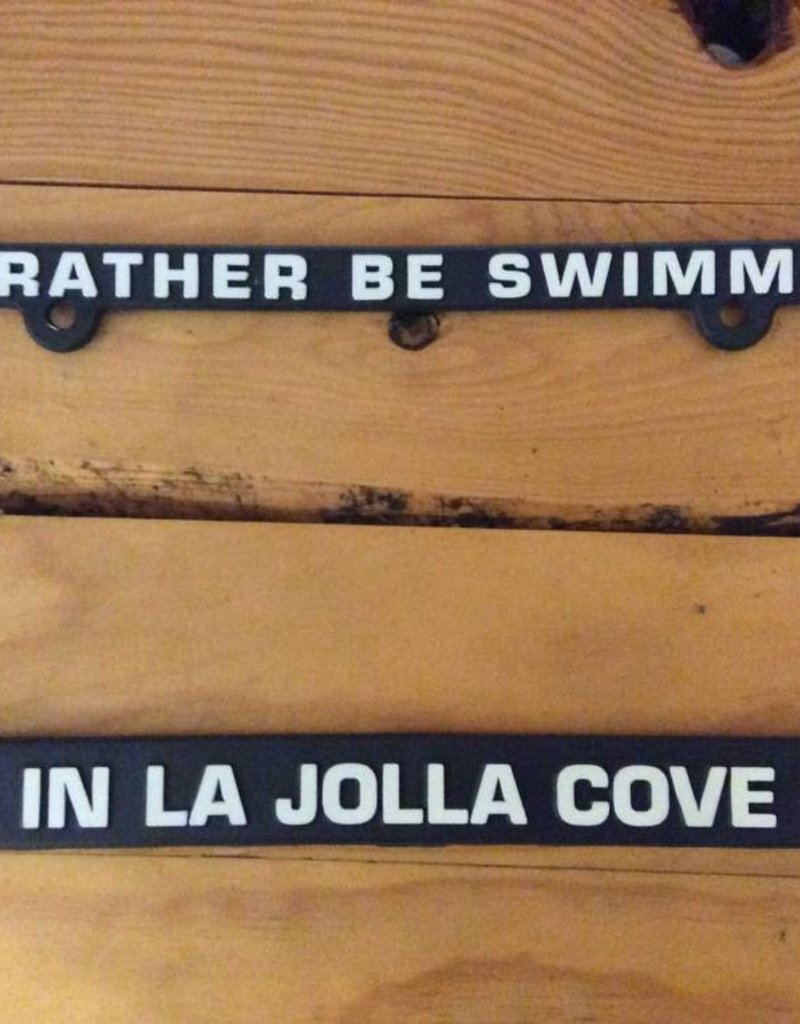 La Jolla Cove License Plate Frame