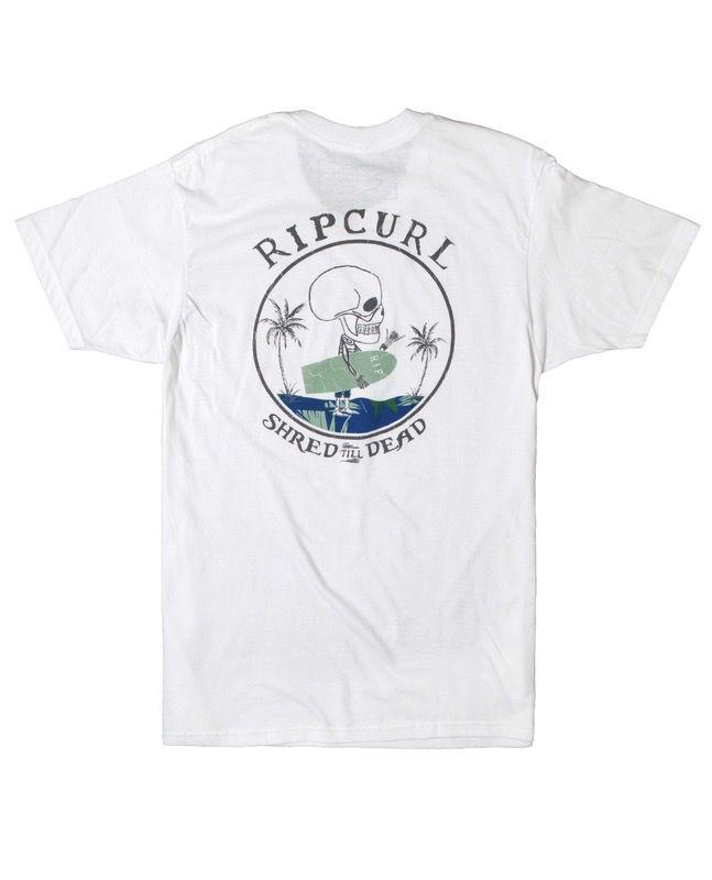 Rip Curl Rip Curl Shred Till Dead Premium Tee Mens Surfing
