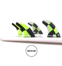 FCS FCS II MB PC Carbon Tri Quad Set Medium Acid Mayhem Matt Biolos Quads Surfboard Fins