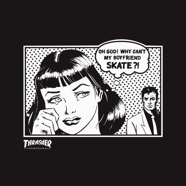 Thrasher Thrasher Skate Mag Boyfriend T-Shirt
