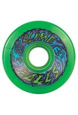 Skate Santa Cruz Slimeballs  66mm Neon Green 78a
